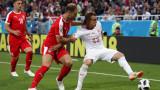 Сърбия загуби от Швейцария и ще се надява на чудо срещу възродената Бразилия