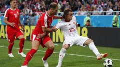 Сърбия - Швейцария 1:2, гол на Шакири!