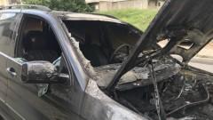 Изгоряха камион, трактор и автомобили на бившия кмет на Съединение
