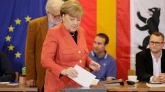 Меркел печели изборите в Германия, според exit poll