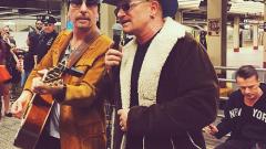 U2 предизвикаха хаос в метрото в Ню Йорк