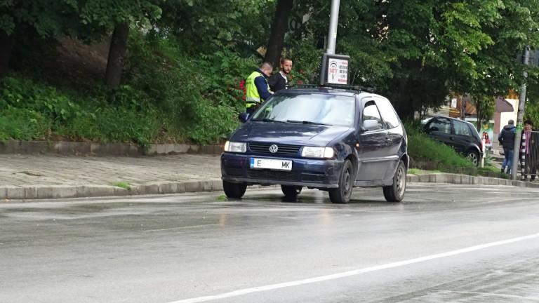 Двама души пострадаха при две катастрофи днес в Благоевград, предаде