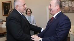 Борисов и Чавушоглу затвърждават добрите отношения между България и Турция