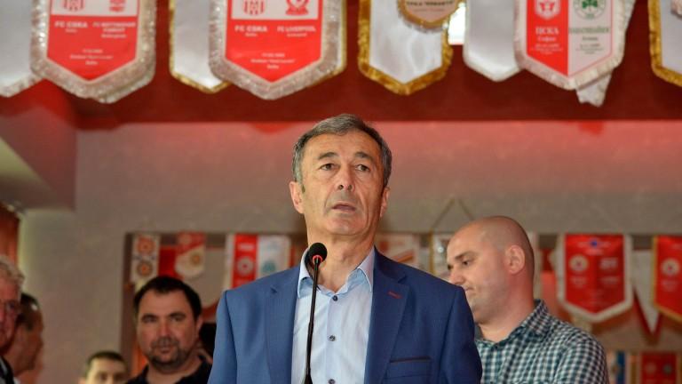 Пламен Марков: В ЦСКА напрежението е всеки ден, борбата за титлата ще бъде непредвидима