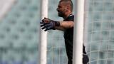 Георги Георгиев е устремен към вратарски рекорд