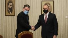 Радев поиска съвместни производства със Сърбия