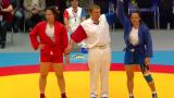 Мария Оряшкова е европейска шампионка по самбо