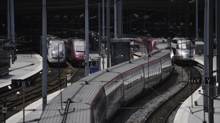 Железопътните услуги Евростар (Eurostar) и Талис (Thalys) могат да бъдат