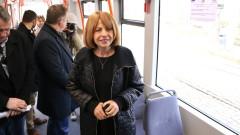 До 2 години пускат нови 25 трамвая в София, прогнозира Фандъкова