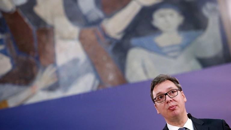 Вучич потвърди, че е получил план на Запада за Косово