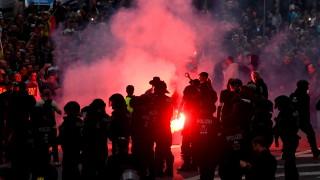 При демонстрациите в Кемниц заплашвали българин