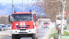 Пожар избухна в новострояща се сграда във Велико Търново