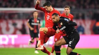 """Байерн разочарова Хьонес и хиляди на """"Алианц Арена"""", баварците прекъснаха успешната си серия срещу Леверкузен"""