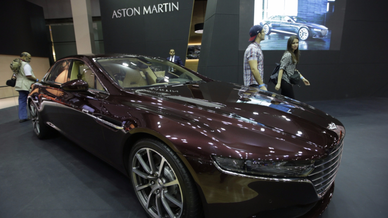 Печалбата на Aston Martin преди данъци за третото тримесечие на