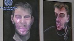 Откриха три откраднати картини