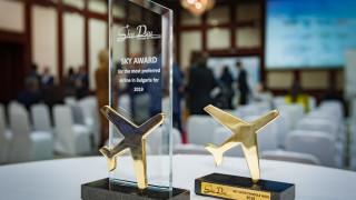 Bulgaria Air с награда за най-предпочитаната авиокомпанията на българския пазар