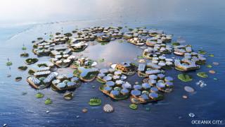 Футуристичният плаващ град на ООН