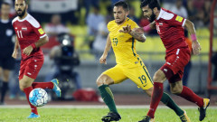 Сирия и Австралия не излъчиха победител в първия плейоф в зона Азия (ВИДЕО)