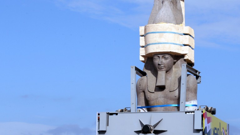Министерството на антиките в Египет е поръчало на входа на