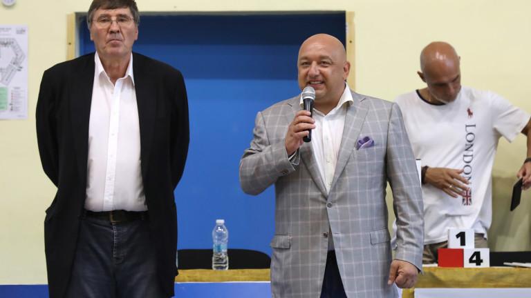 Министърът на младежта и спорта Красен Кралев взе участие в