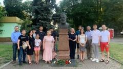 Възстановиха паметника на Христо Ботев в Одеса