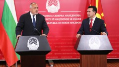 Бойко Борисов разговаря със Зоран Заев