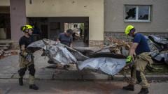 Двегодишно дете е сред жертвите на торнадото в Чехия