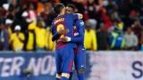Барселона надви Мамелоди Съндаунс в чест на Нелсън Мандела