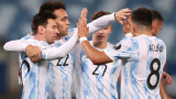 Аржентина разби Боливия, Уругвай удари Парагвай на Копа Америка