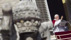 Папа Бенедикт XVI  благодари на Рим за любовта и подкрепата