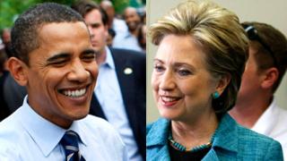Клинтън отбеляза победа, Обама близо до финала