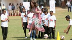 Принц Уилям и Кейт Мидълтън в Индия (СНИМКИ)