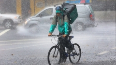 Облачно и дъждовно в сряда