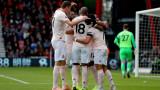 Борнемут загуби от Манчестър Юнайтед с 1:2