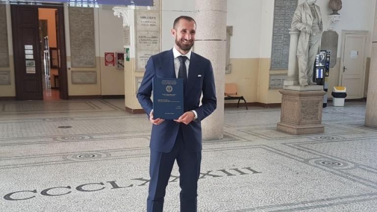 Джорджо Киелини вече е магистър по мениджмънт и икономика