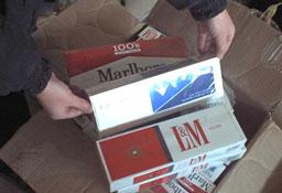 Заловиха контрабандни цигари в Малко Търново и Лесово
