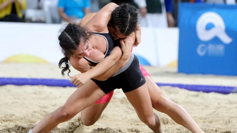 Международната федерация по борба (UWW) заяви в МОК плажната борба