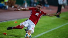 Иван Турицов на линия за ЦСКА срещу Етър