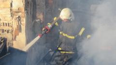 Пожар в хале за отпадъци на Кремиковци