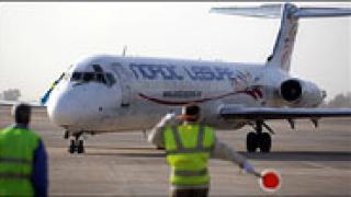 Пътнически самолет лети отново между Европа и Ирак