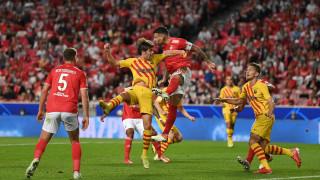 Ново унижение за Барселона в Шампионската лига