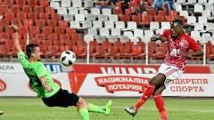 """Черно море - ЦСКА 2:0, червен картон за """"моряците""""!"""
