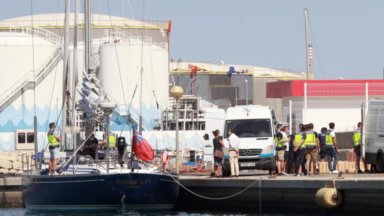Девет българи заловени с рекордни 35 тона хашиш в Испания