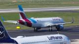 Стачка заплашва 300 полета и 60 000 пътници в Германия