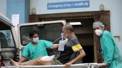 Десетки загинали при пожар в COVID болница в Индия