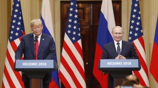 Путин към Тръмп: От нас зависи международната сигурност