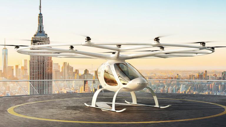 Volocopter иска одобрение за експлоатация на летящи таксита в САЩ