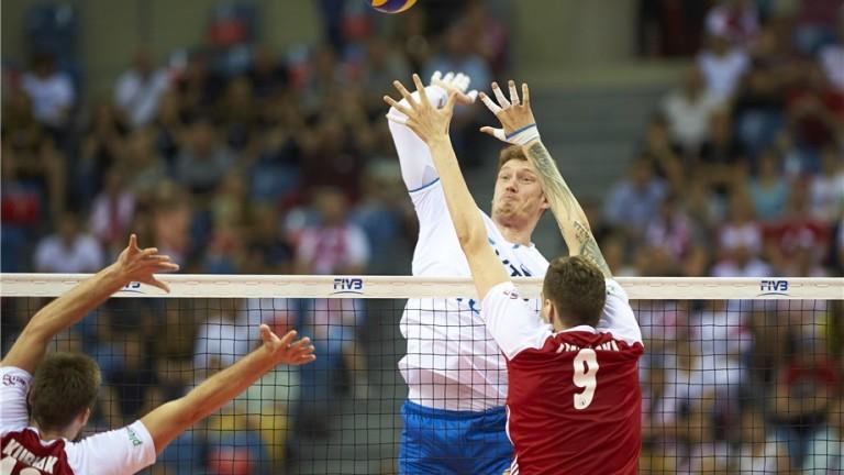 Волейболистите на Русия победиха Полша с 3-1 гейма в иранския град Урмия