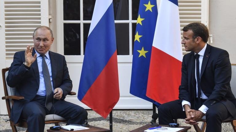 Франция не вижда никакви резултати от опитите си за нови отношения с Русия