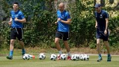 Голмайсторът на Левски вече тренира с тима